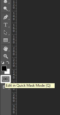 Quick mask mode