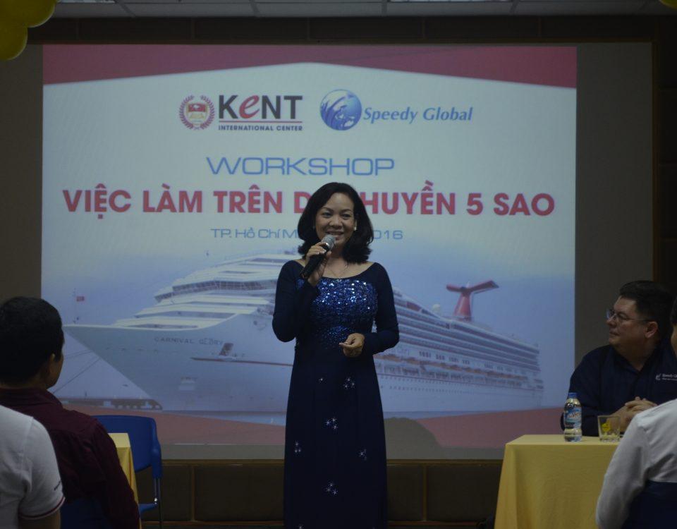Hiệu trưởng Nguyễn Thị Hồng Loan - trường Cao đẳng Quốc tế Kent