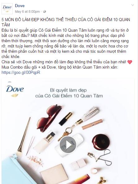 Cách kể chuyện trong Content Marketing của Dove