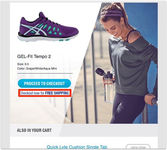 Email của Asics