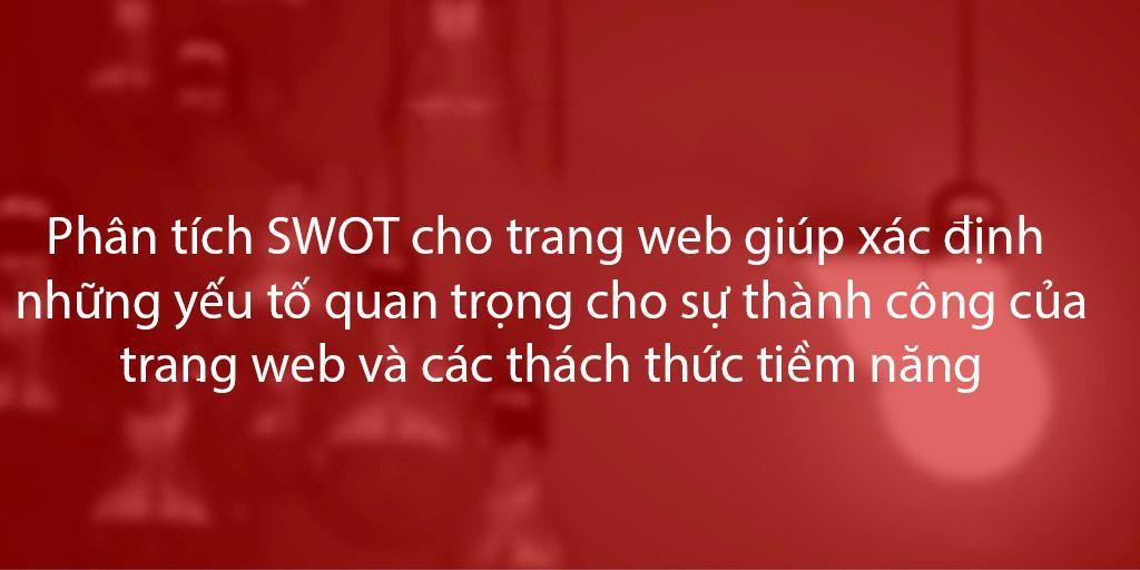 Tầm quan trọng của SWOT